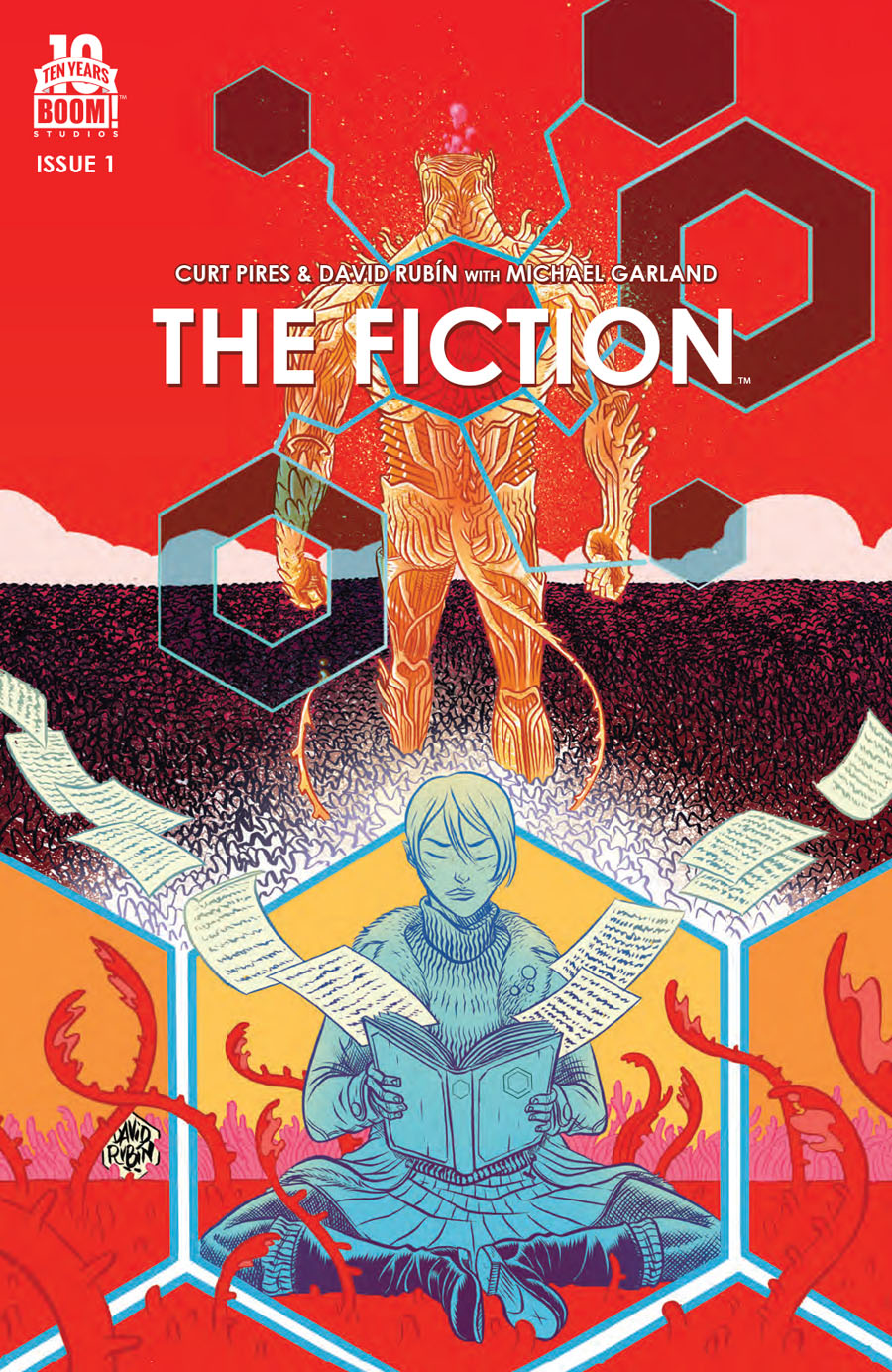 Fiction #1 Cover A Regular David Rubin Cover