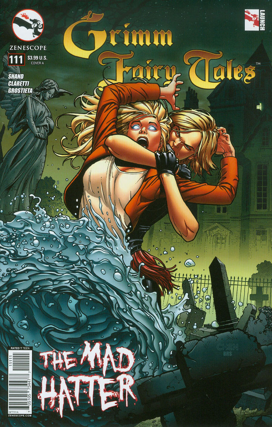 Grimm Fairy Tales #111 Cover A Sean Chen