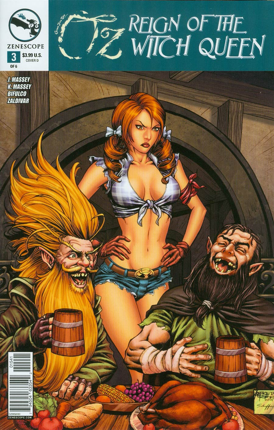 Grimm Fairy Tales Presents Oz Reign Of The Witch Queen #3 Cover D Alfredo Reyes