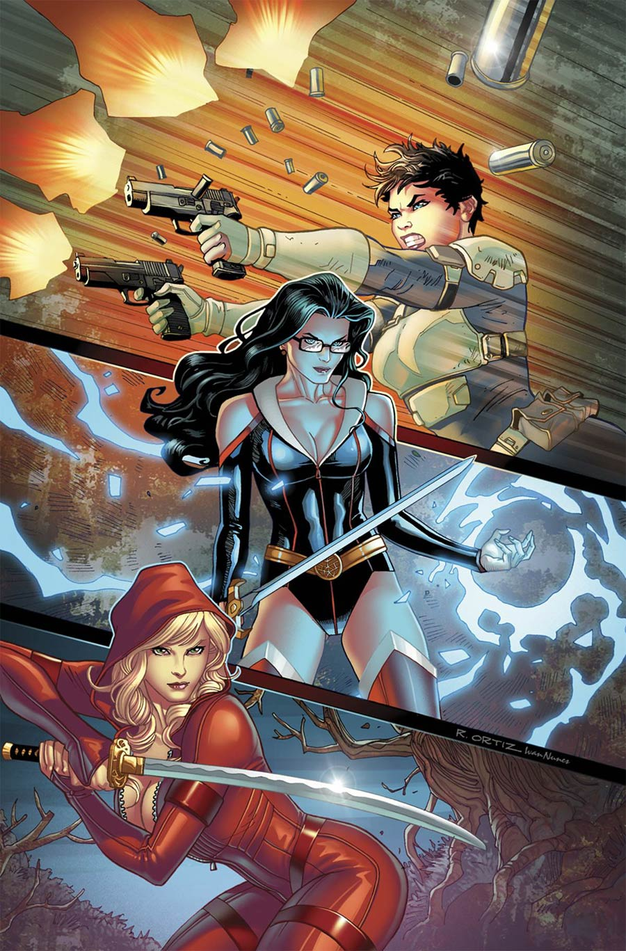Grimm Fairy Tales Presents Realm War #12 Cover A Richard Ortiz (Age Of Darkness Tie-In)