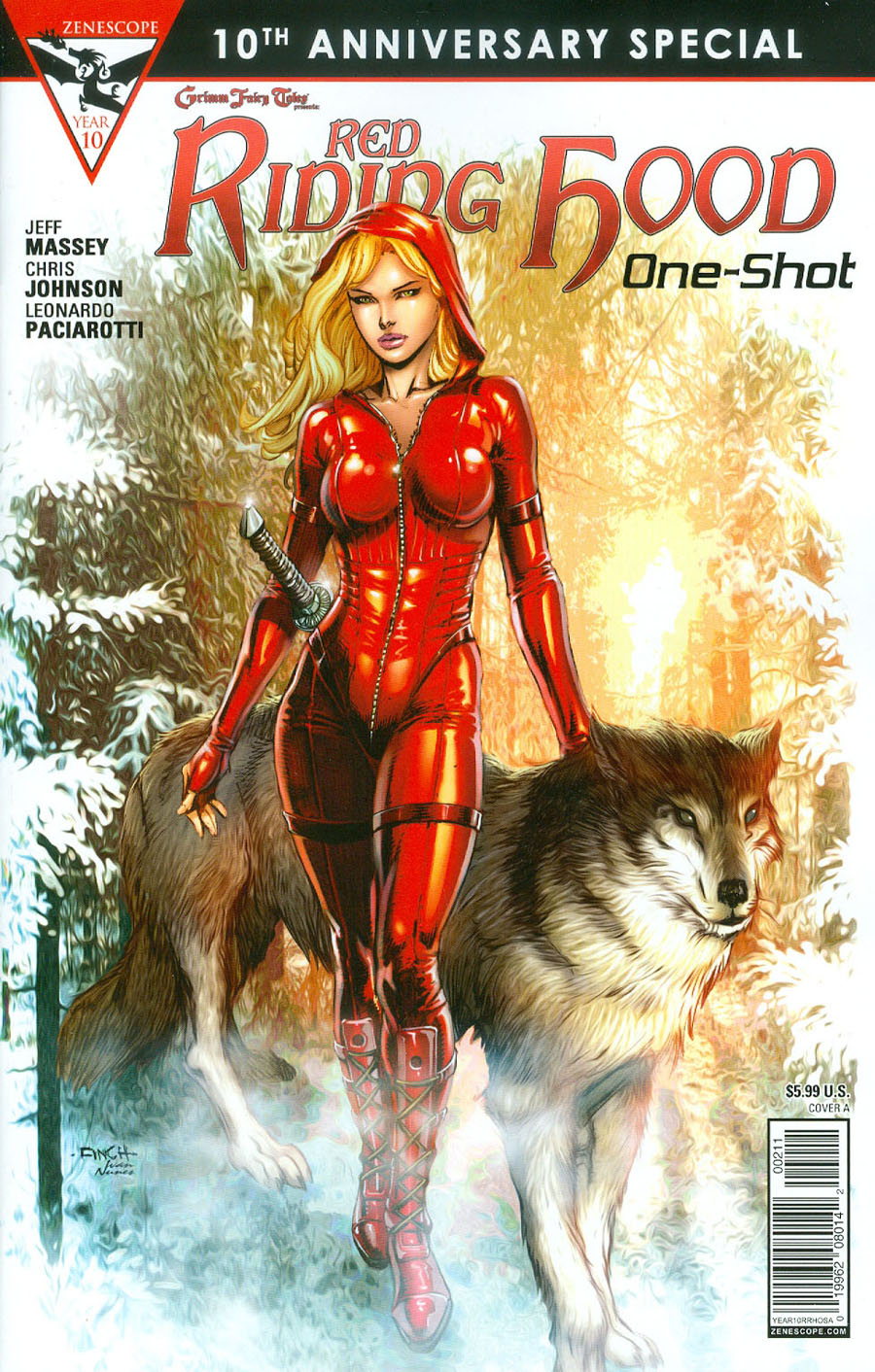 Grimm Fairy Tales Presents 10th Anniversary Special #2 Red Riding Hood Cover A David Finch
