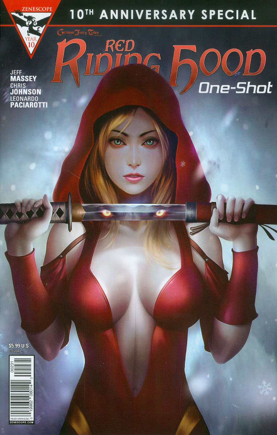 Grimm Fairy Tales Presents 10th Anniversary Special #2 Red Riding Hood Cover C Meguro