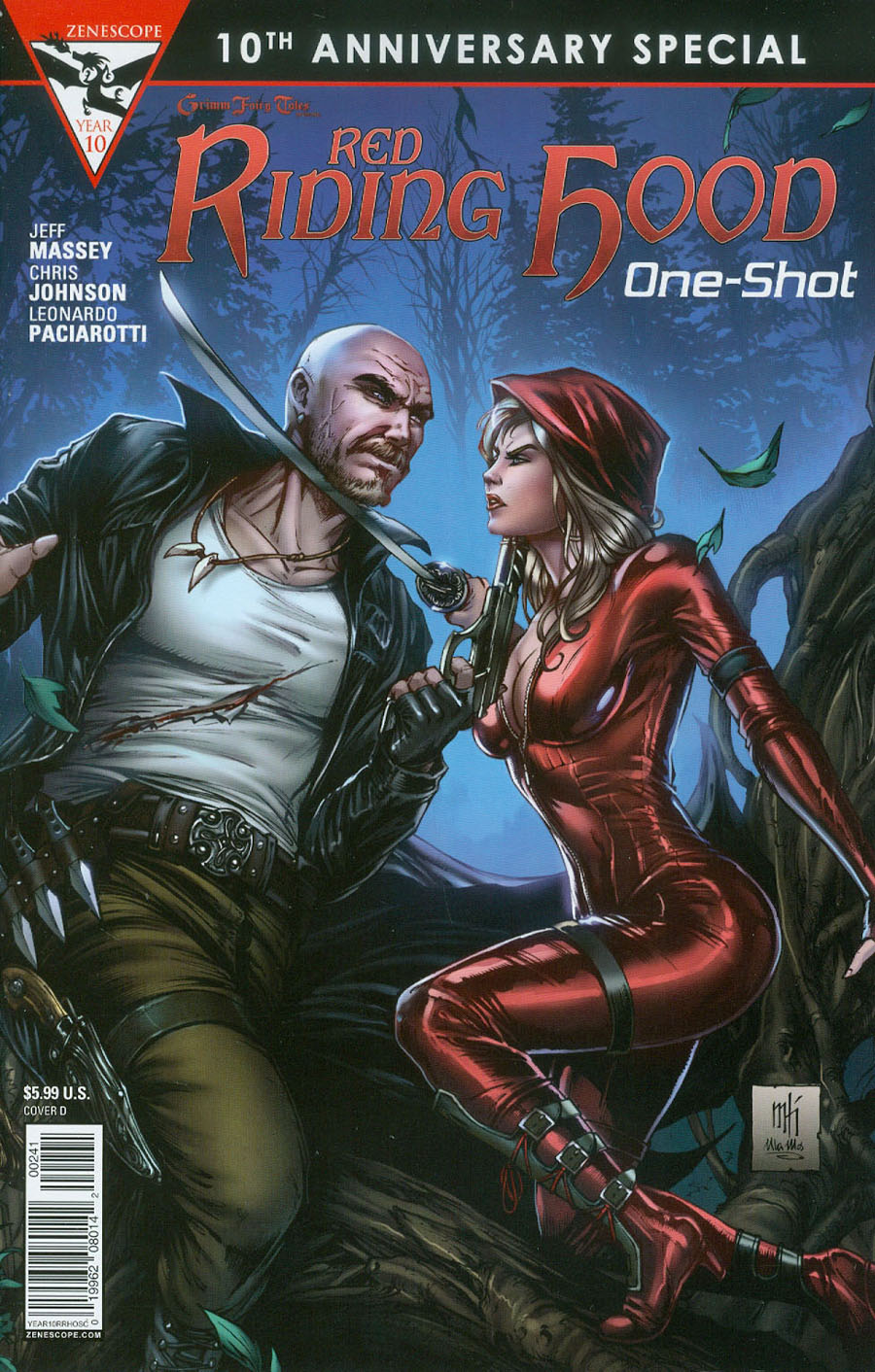Grimm Fairy Tales Presents 10th Anniversary Special #2 Red Riding Hood Cover D Mike Krome