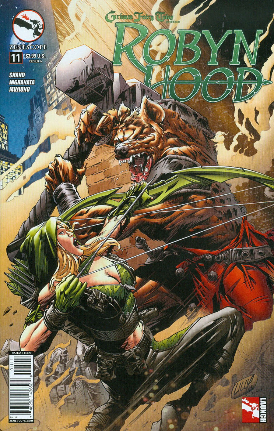 Grimm Fairy Tales Presents Robyn Hood Vol 2 #11 Cover A Mike Lilly