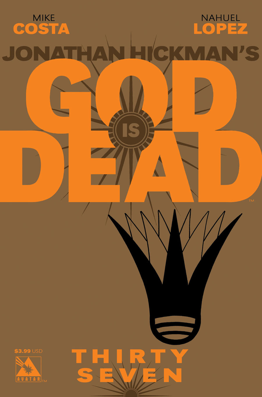 God Is Dead #37 Cover A Regular Cover