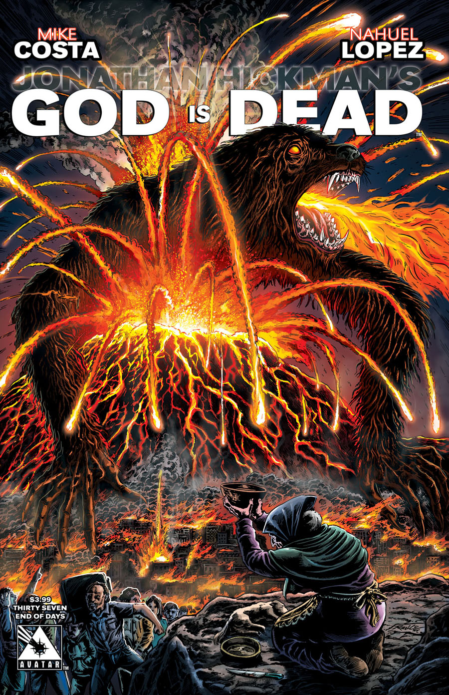 God Is Dead #37 Cover D End Of Days Cover
