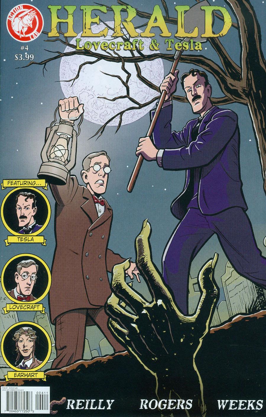 Herald Lovecraft & Tesla #4