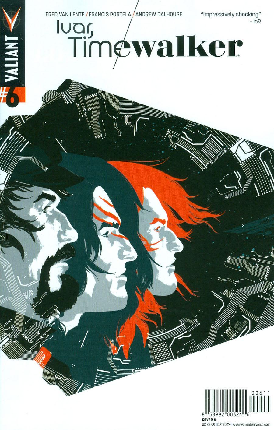 Ivar Timewalker #6 Cover A Regular Raul Allen Cover