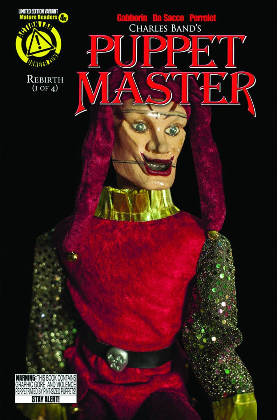 Puppet Master #4 Cover D Variant Jester Photo Cover