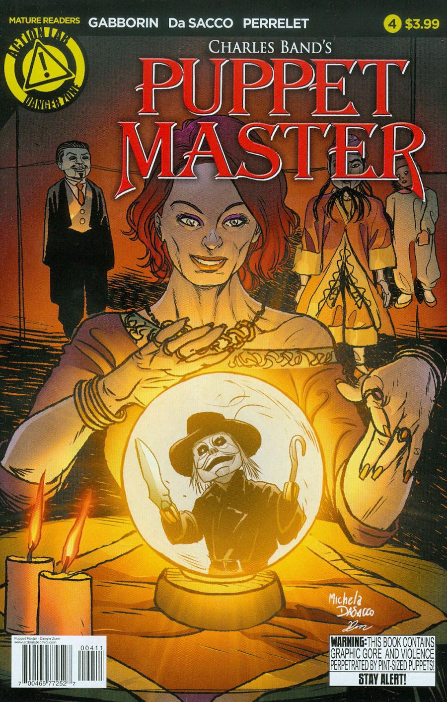 Puppet Master #4 Cover A Regular Michela De Sacco Cover