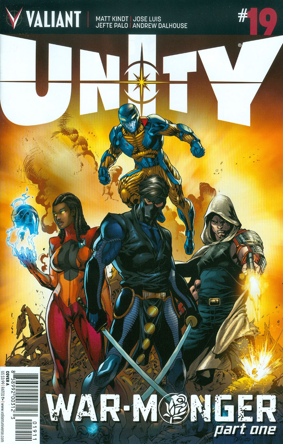 Unity Vol 2 #19 Cover A Regular Diego Bernard Cover