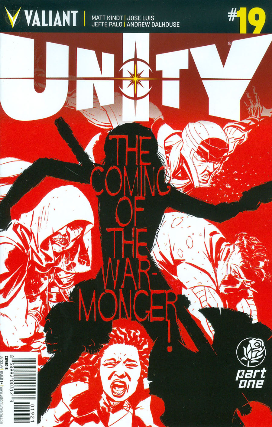 Unity Vol 2 #19 Cover B Variant Kano Cover