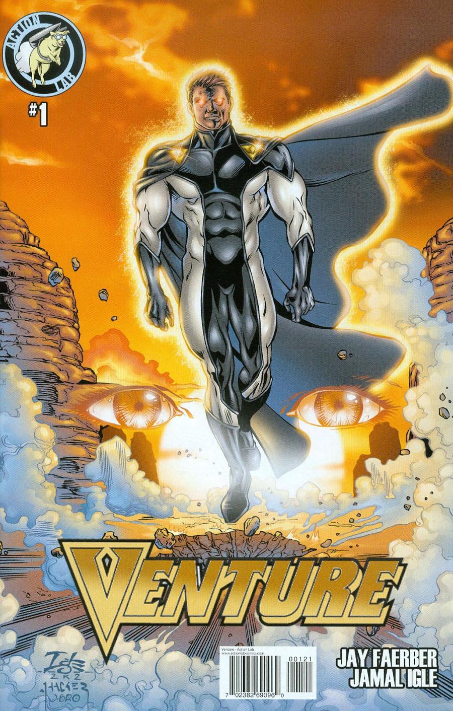 Venture Vol 2 #1 Cover B Variant Jamal Igle Cover