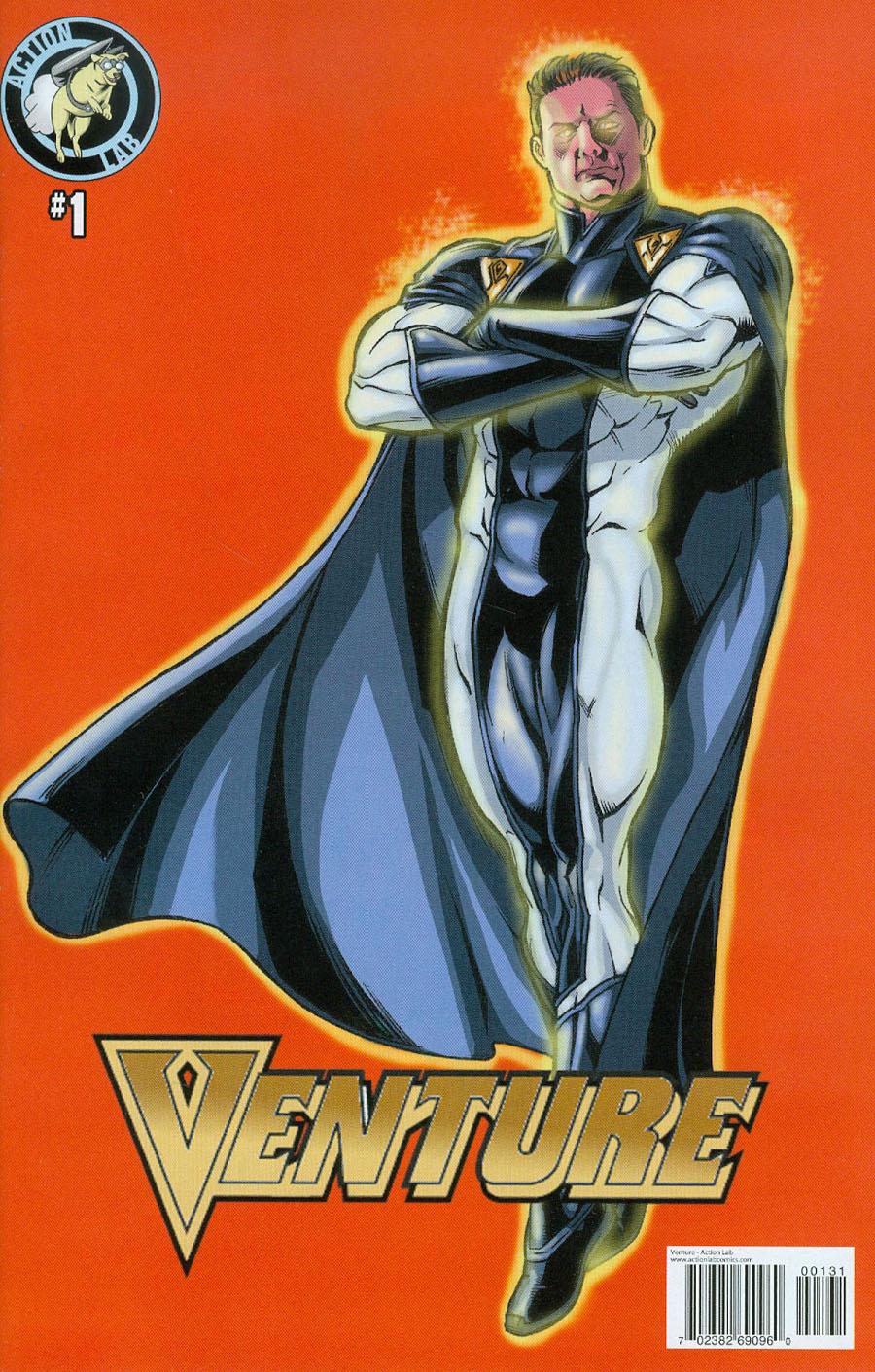 Venture Vol 2 #1 Cover C Variant Jamal Igle Cover