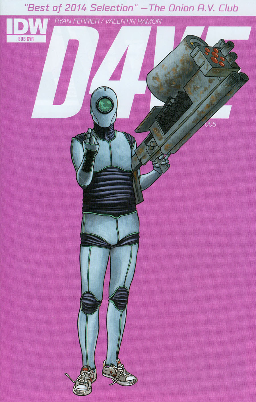 D4VE #5 Cover B Variant Valentin Ramon Subscription Cover