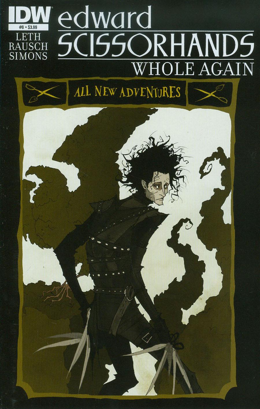Edward Scissorhands #9 Cover A Regular Abigail Larson Cover