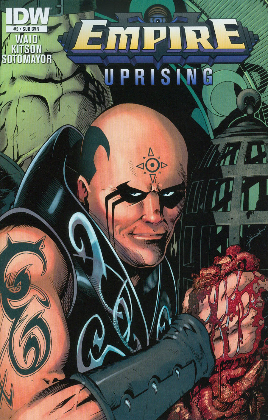Empire Uprising #3 Cover B Variant Barry Kitson Subscription Cover