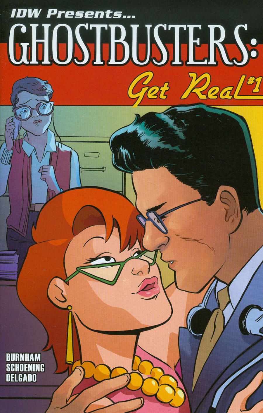 Ghostbusters Get Real #1 Cover B Variant Erica Henderson Subscription Cover