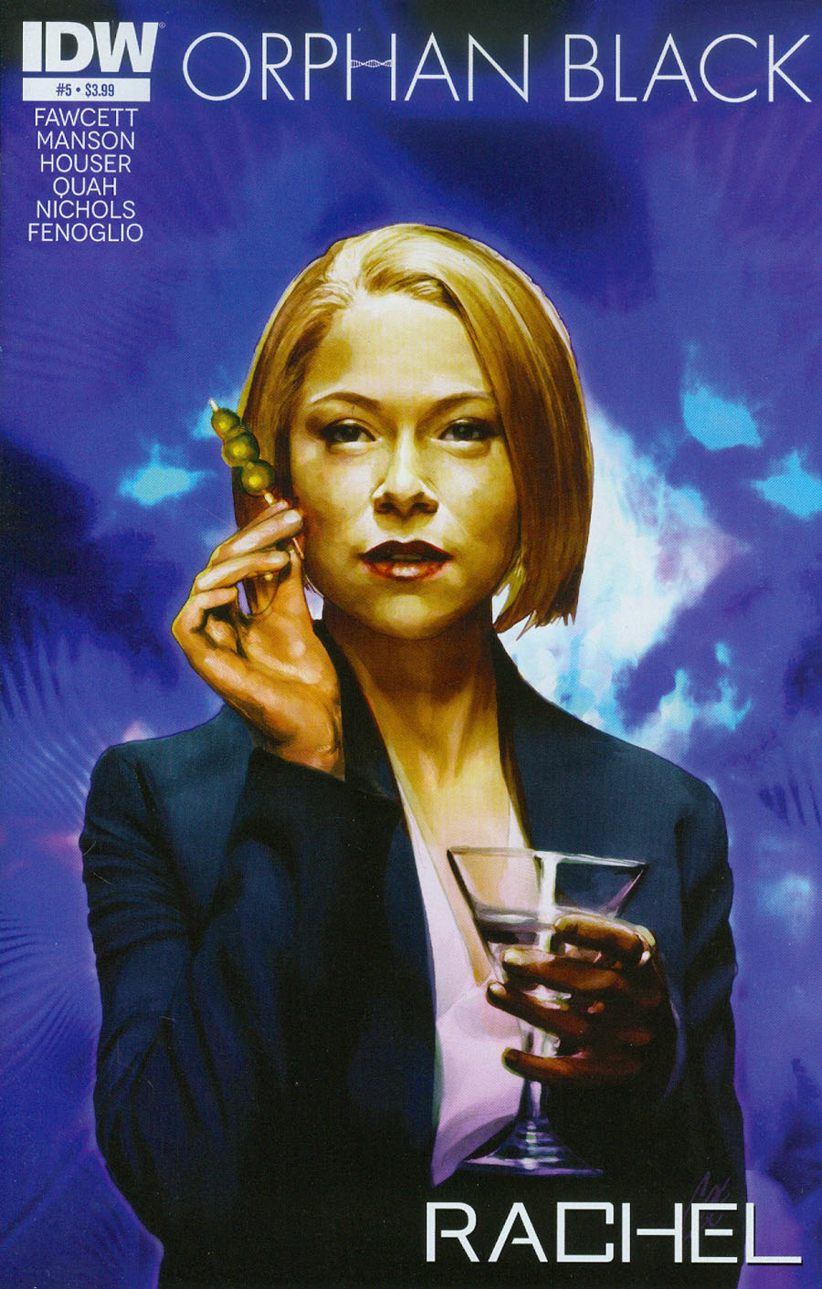 Orphan Black #5 Cover A Regular Cat Staggs Cover