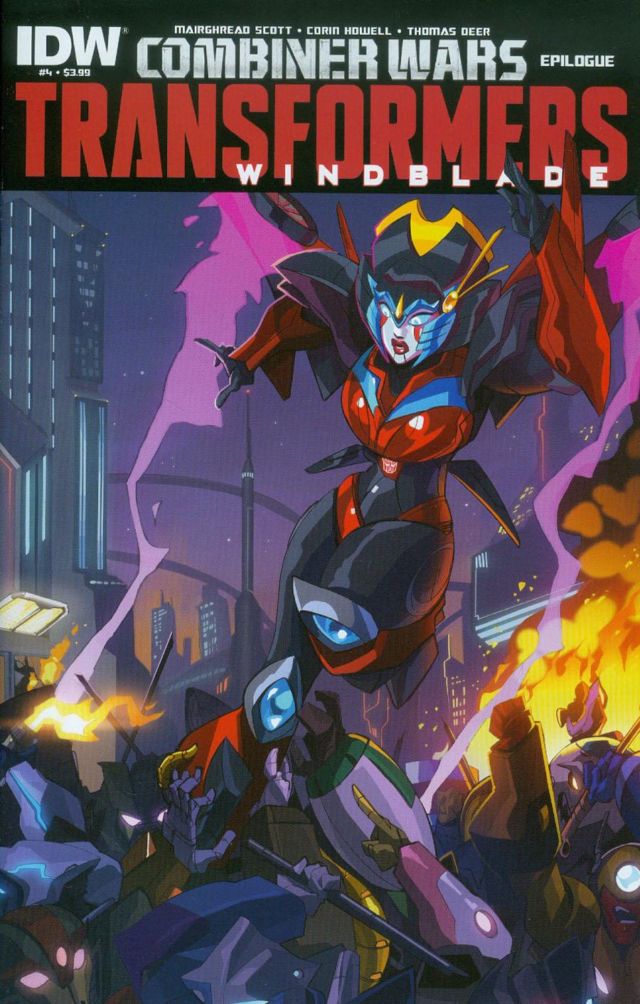 Transformers Windblade Combiner Wars #4 Cover A Regular Priscilla Tramontano Cover (Combiner Wars Epilogue)