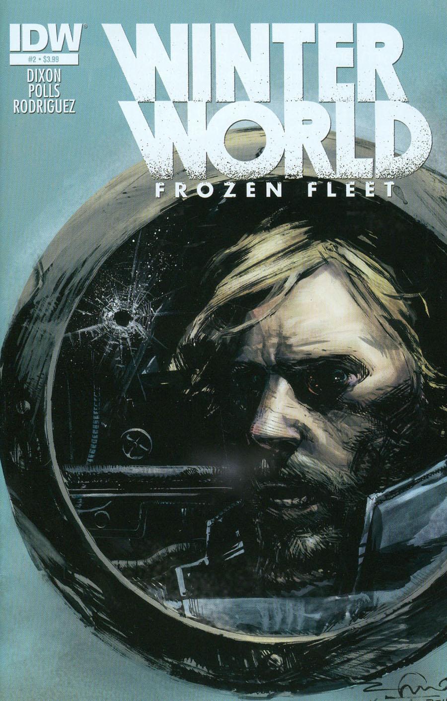 Winterworld Frozen Fleet #2 Cover A Regular Gerardo Zaffino Cover