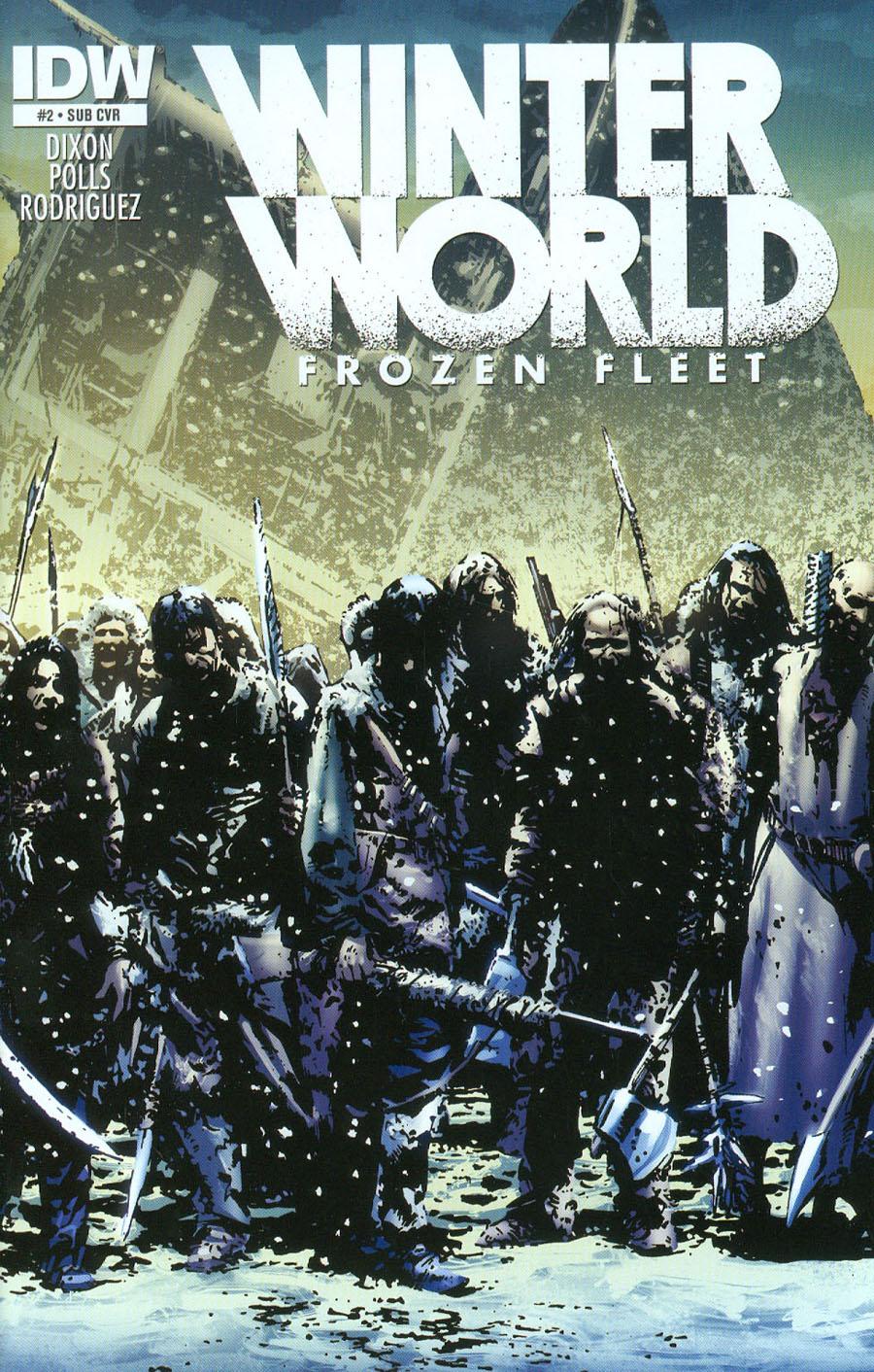 Winterworld Frozen Fleet #2 Cover B Variant Butch Guice Subscription Cover