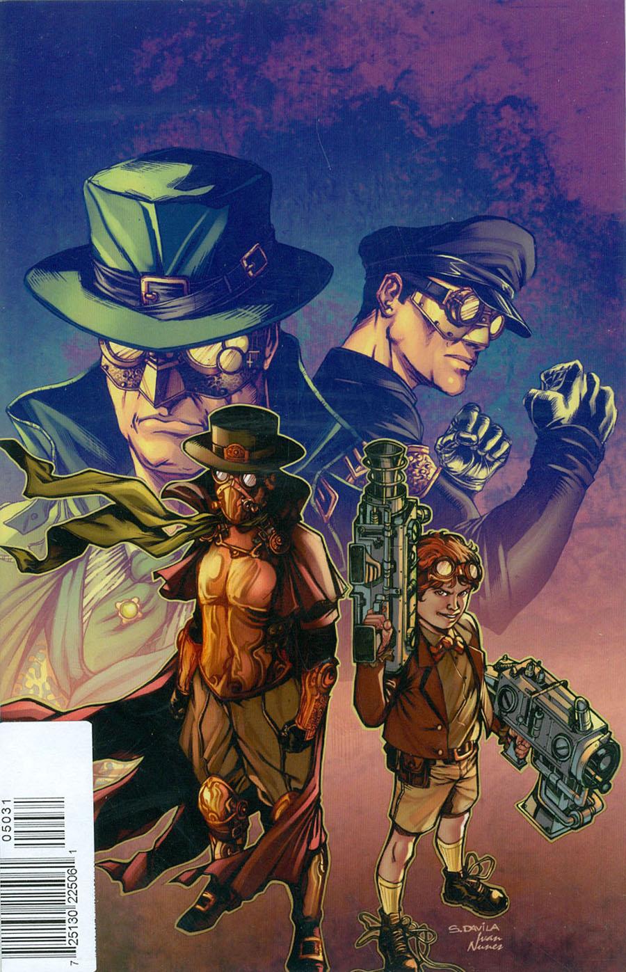 Legenderry Green Hornet #5 Cover C Rare Sergio Fernandez Davila Virgin Cover
