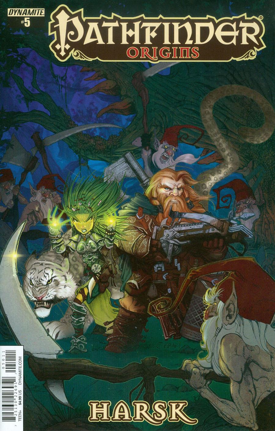 Pathfinder Origins #5 Cover A Regular Sebastian Cichon Cover