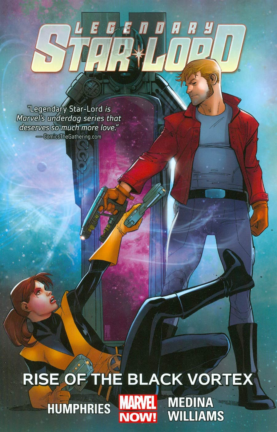Legendary Star-Lord Vol 2 Rise Of The Black Vortex TP