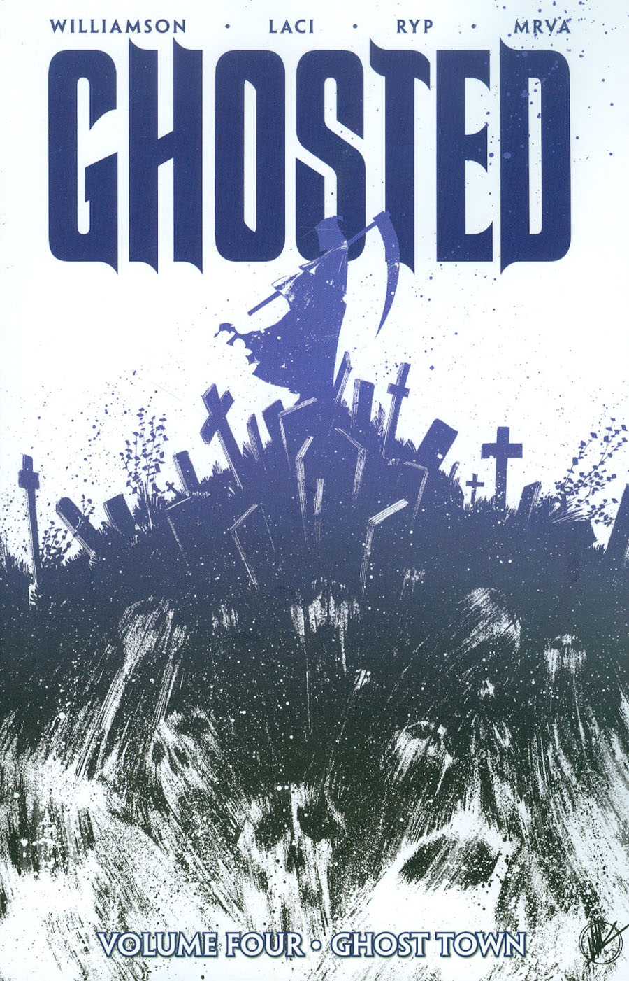 Ghosted Vol 4 Ghost Town TP