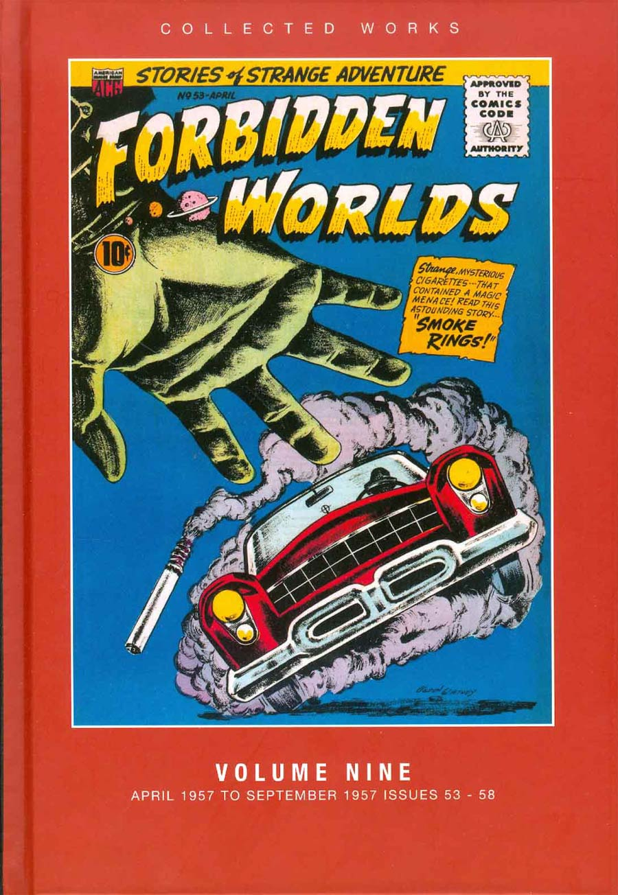 ACG Collected Works Forbidden Worlds Vol 9 HC