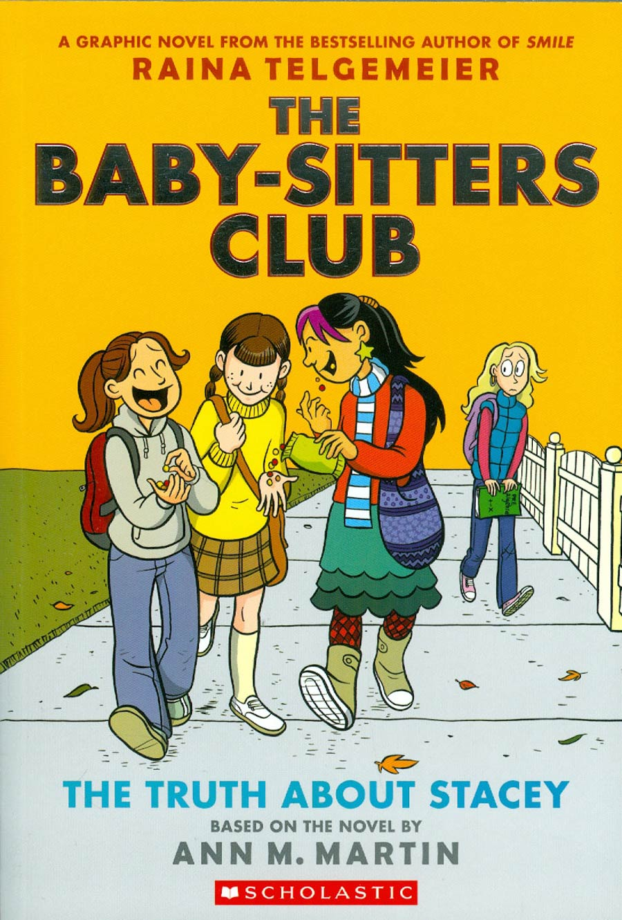 Baby-Sitters Club Color Edition Vol 2 Truth About Stacey TP