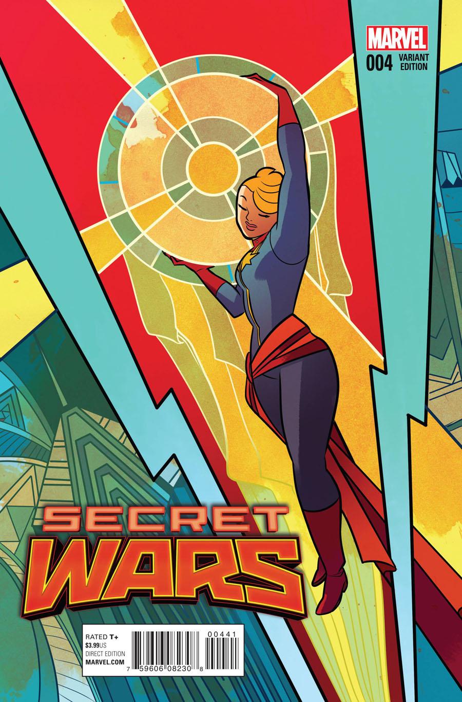 Secret Wars #4 Cover C Variant Erica Henderson Cover