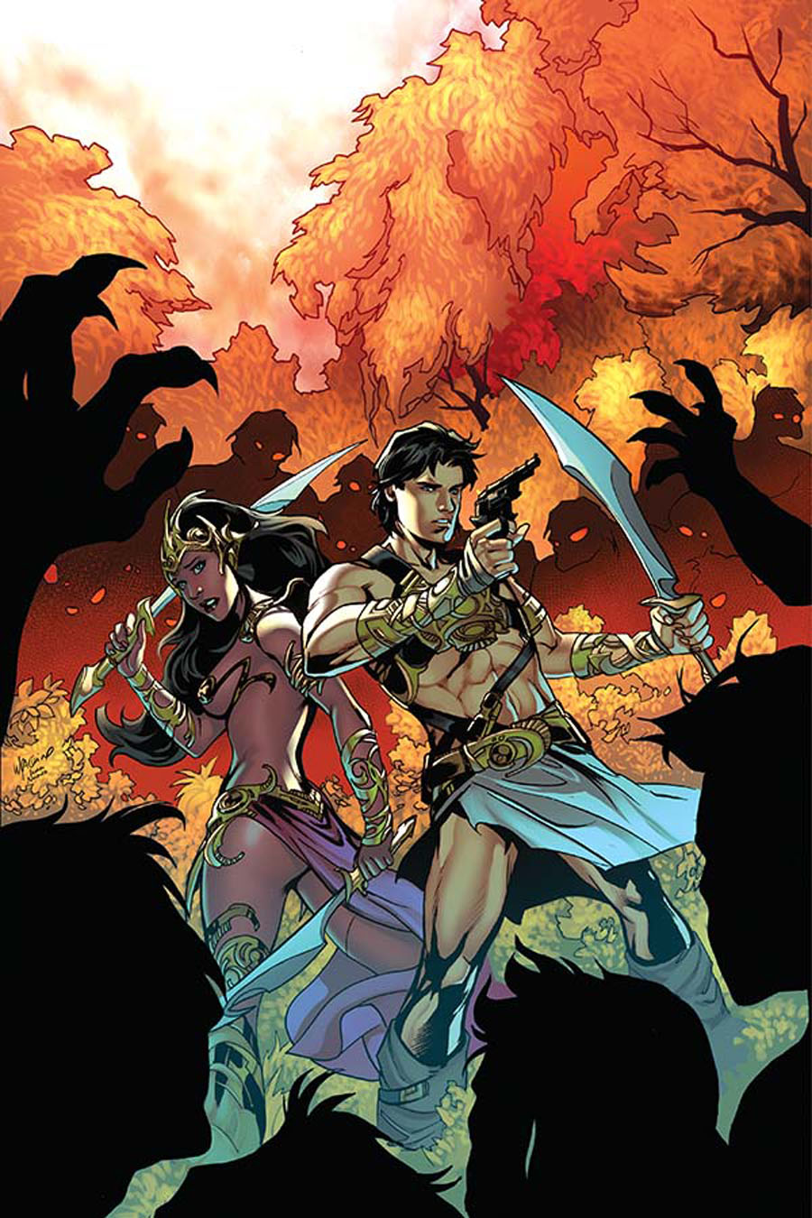John Carter Warlord Of Mars Vol 2 #8 Cover G Incentive Emanuela Lupacchino Virgin Cover