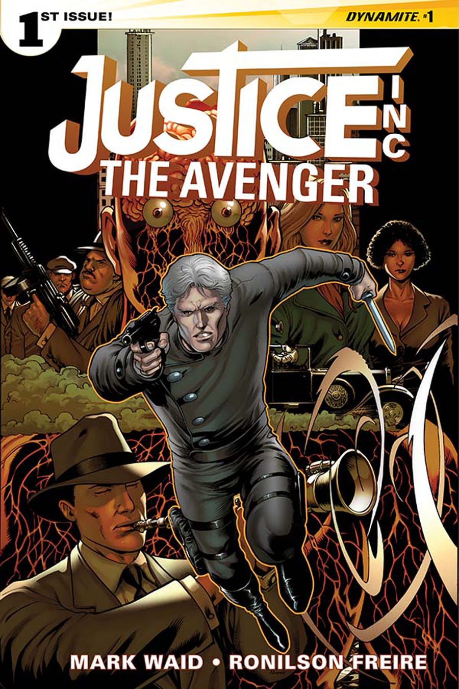 Justice Inc The Avenger #1 Cover F Incentive Barry Kitson Color Variant Cover