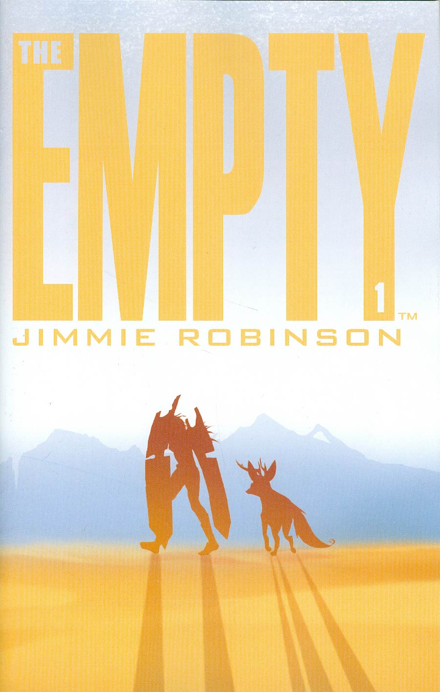 Empty #1 Cover B 2nd Ptg Jimmie Robinson Variant Cover