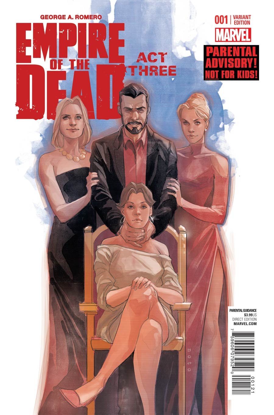 George Romeros Empire Of The Dead Act Three #1 Cover B Incentive Phil Noto Variant Cover