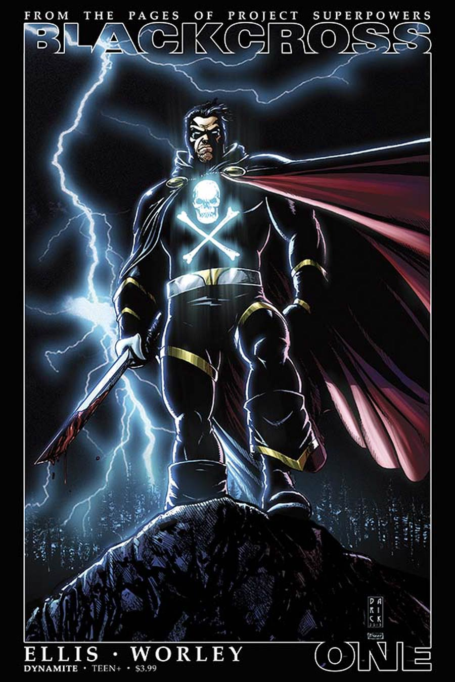 Project Superpowers Blackcross #1 Cover P 2nd Ptg Darick Robertson Variant Cover