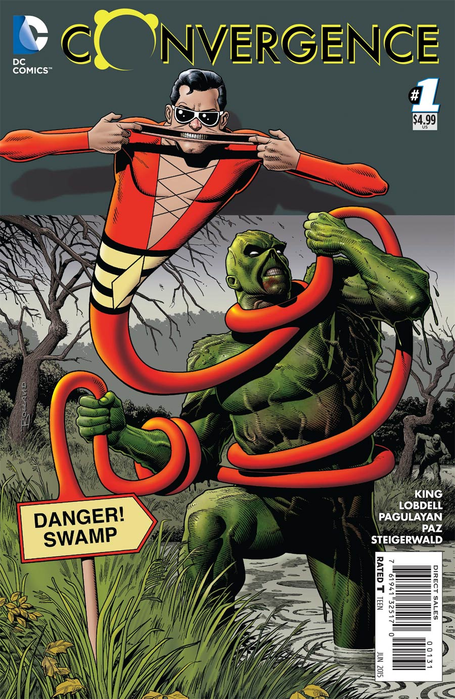 Convergence #1 Cover D Incentive Brian Bolland Variant Cover