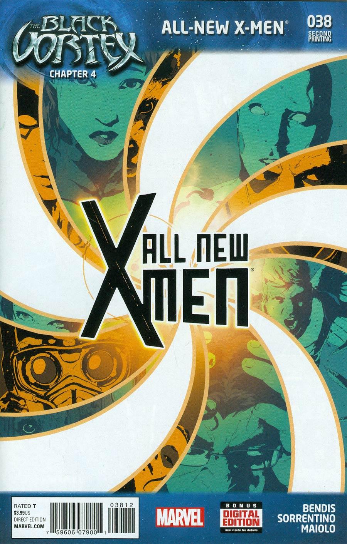 All-New X-Men #38 Cover D 2nd Ptg Andrea Sorrentino Variant Cover (Black Vortex Part 4)