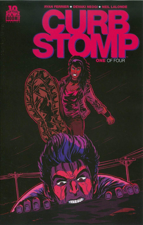Curb Stomp #1 Cover D 2nd Ptg Devaki Neogi Variant Cover