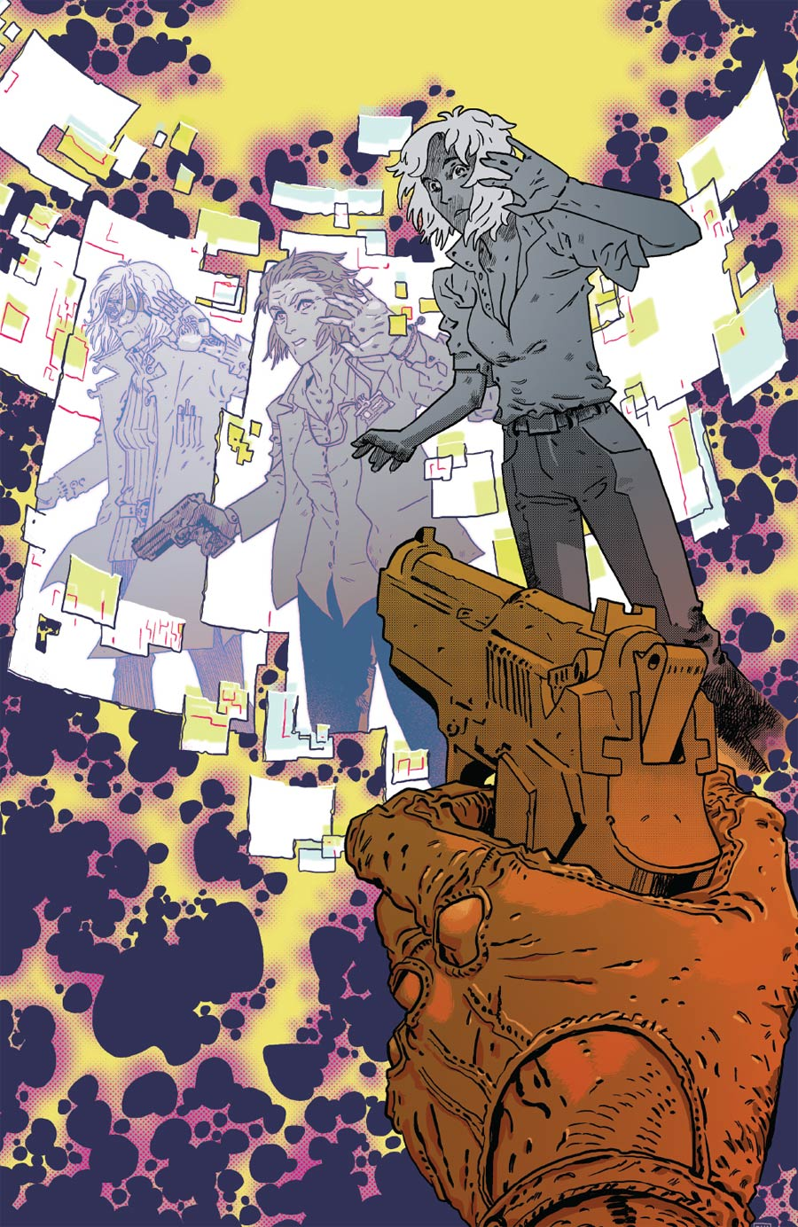 Deep State #5 Cover B Incentive Declan Shalvey Virgin Variant Cover