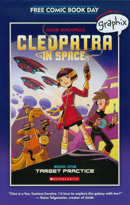 FCBD 2015 Graphix Spotlight Cleopatra In Space Book 1