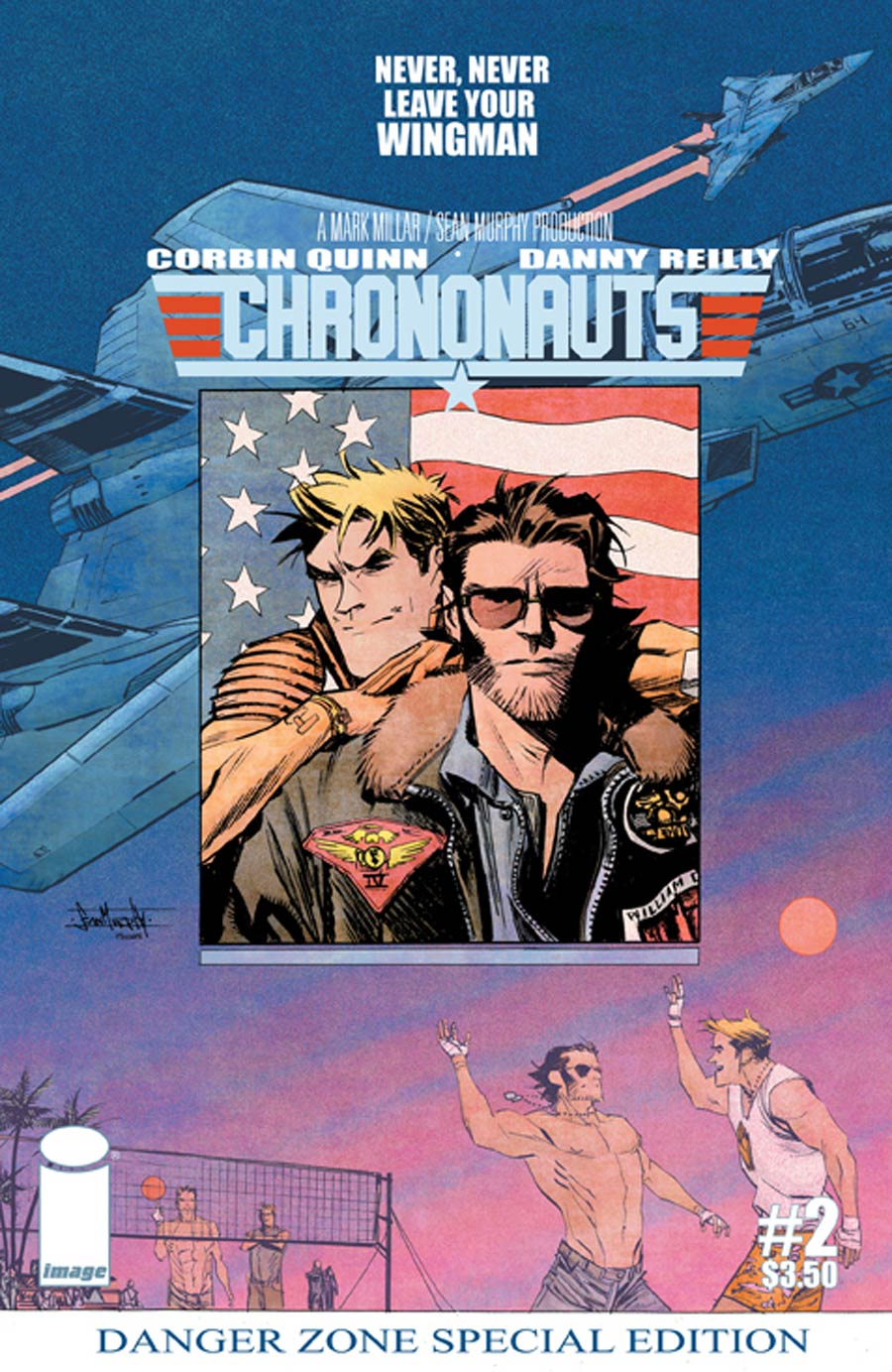 Chrononauts #2 Cover B Variant Sean Murphy Cover