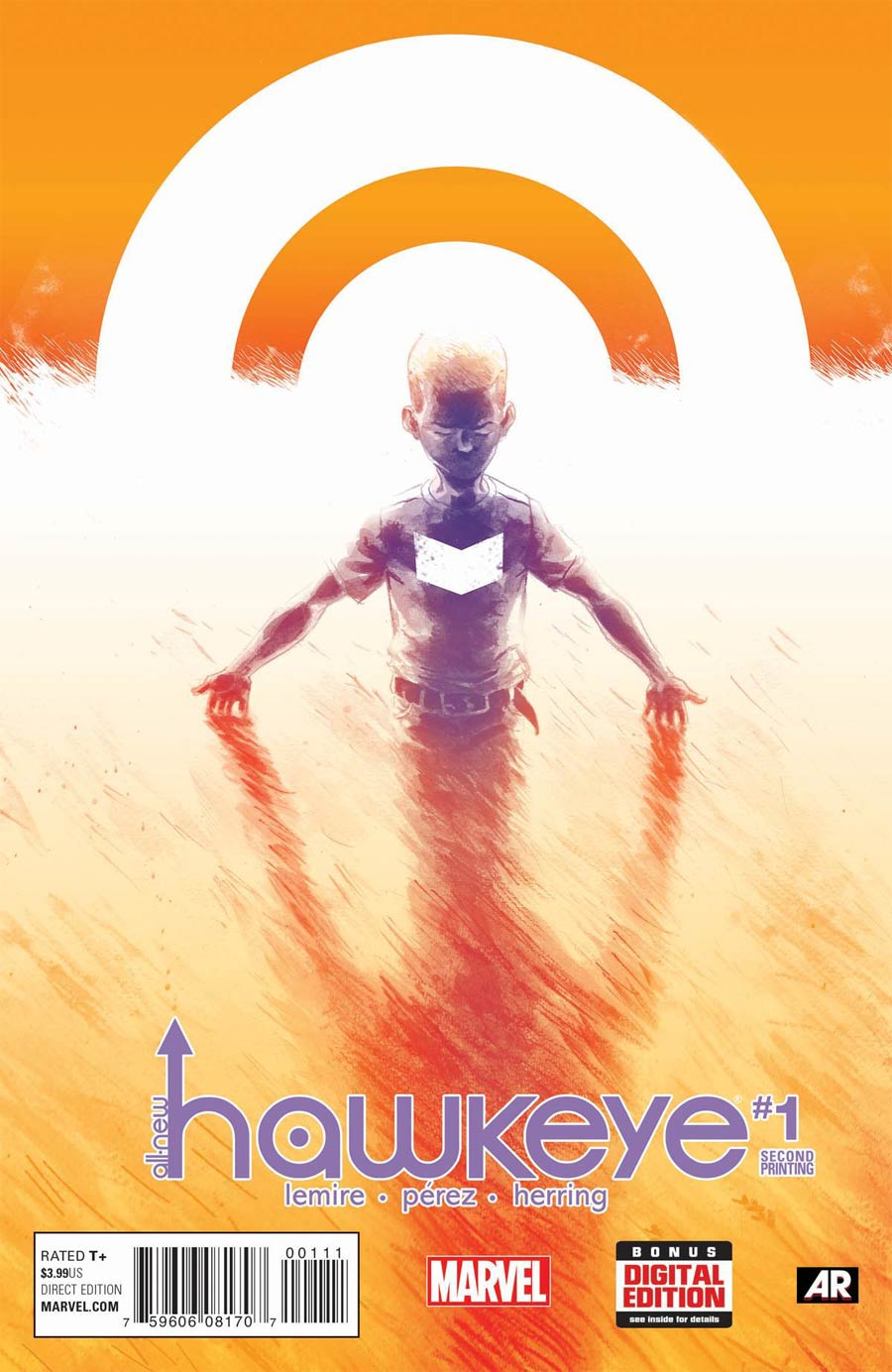 All-New Hawkeye #1 Cover F 2nd Ptg Ramon Perez  Variant Cover