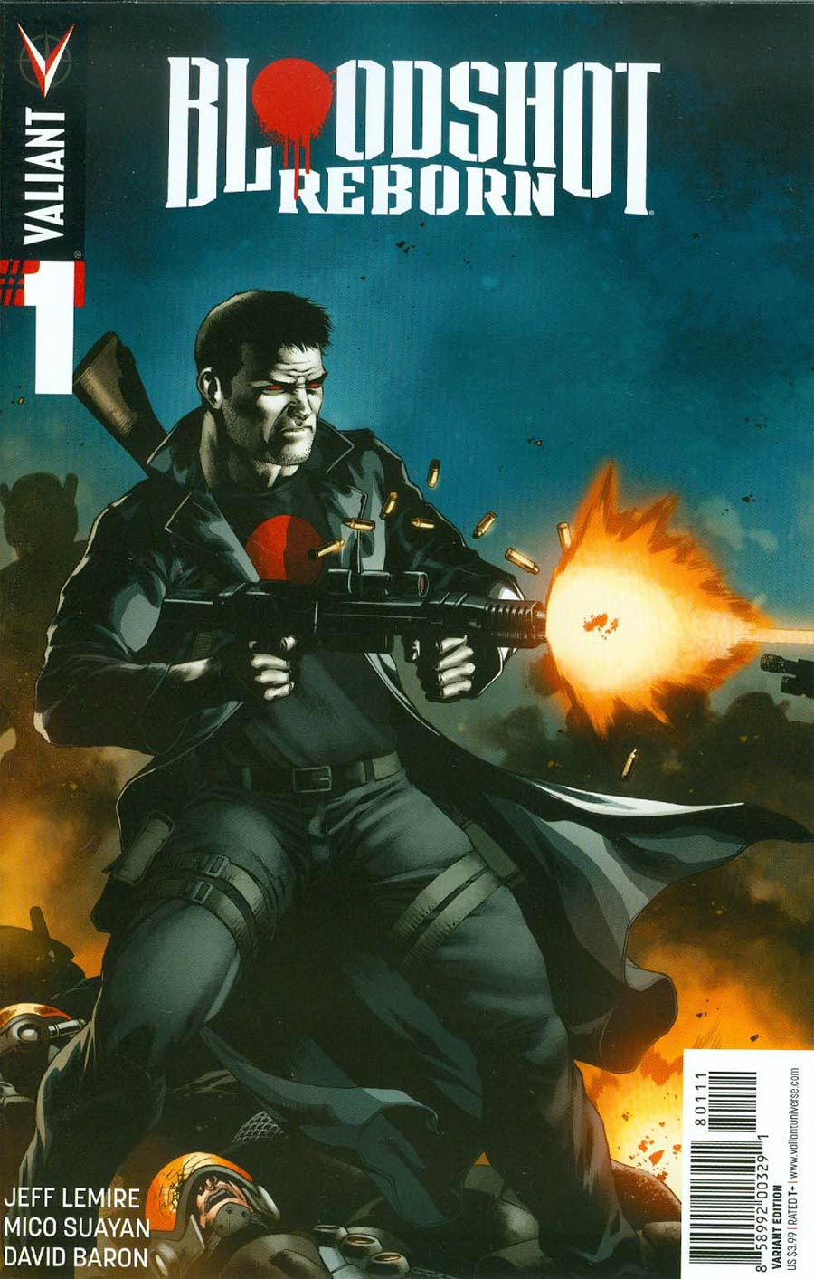 Bloodshot Reborn #1 Cover J Midtown Comics Retailer Shared Exclusive CAFU Variant Cover