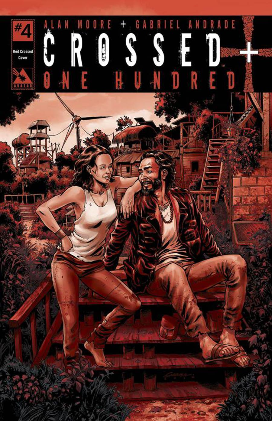 Crossed Plus 100 #4 Cover H Incentive Red Crossed Edition