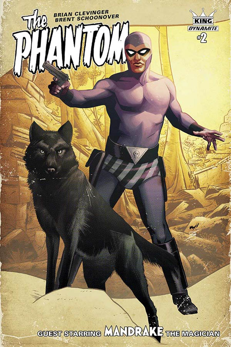 King Phantom #2 Cover C Incentive Wilfredo Torres Color Variant Cover