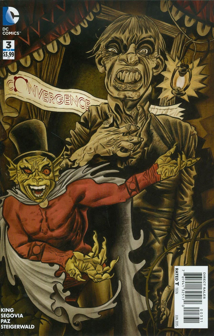 Convergence #3 Cover C Incentive Dave McKean Variant Cover