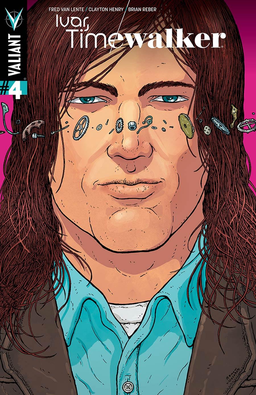 Ivar Timewalker #4 Cover C Incentive Ramon Villalobos Variant Cover